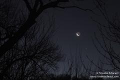 Rapprochement Lune Jupiter
