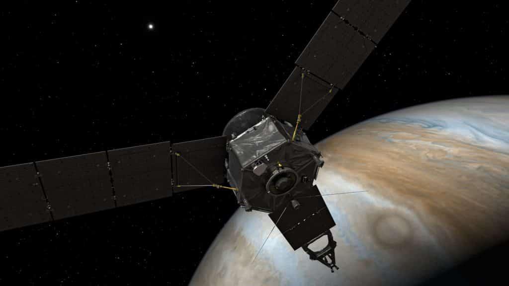 Juno survole Jupiter de très près